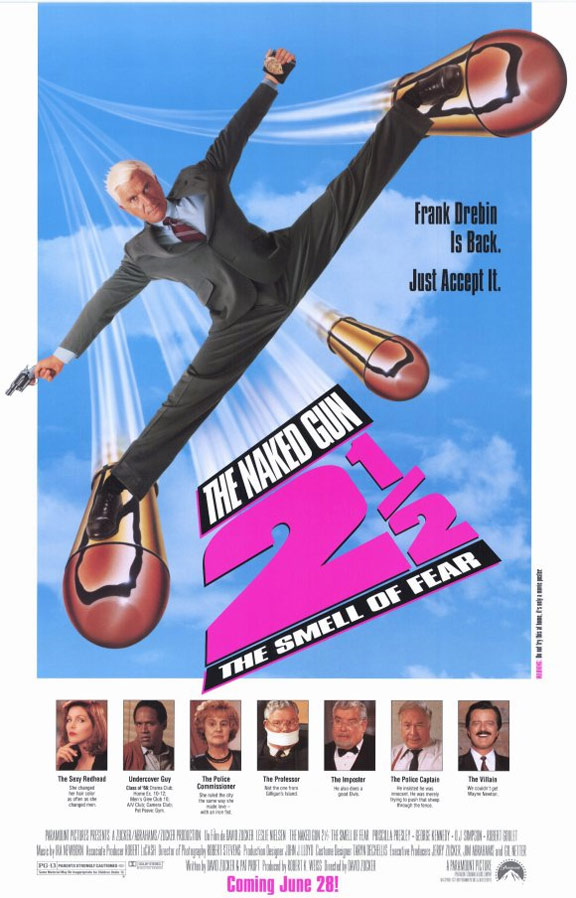 The Naked Gun 2½ Poster