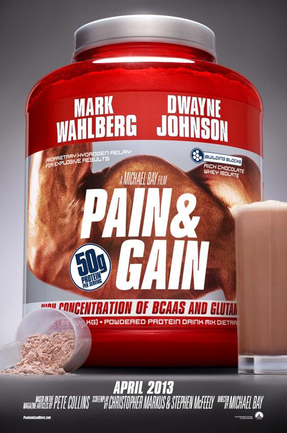 Pain & Gain Poster #2