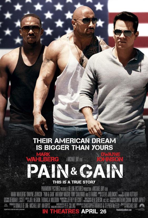 Pain & Gain Poster #3