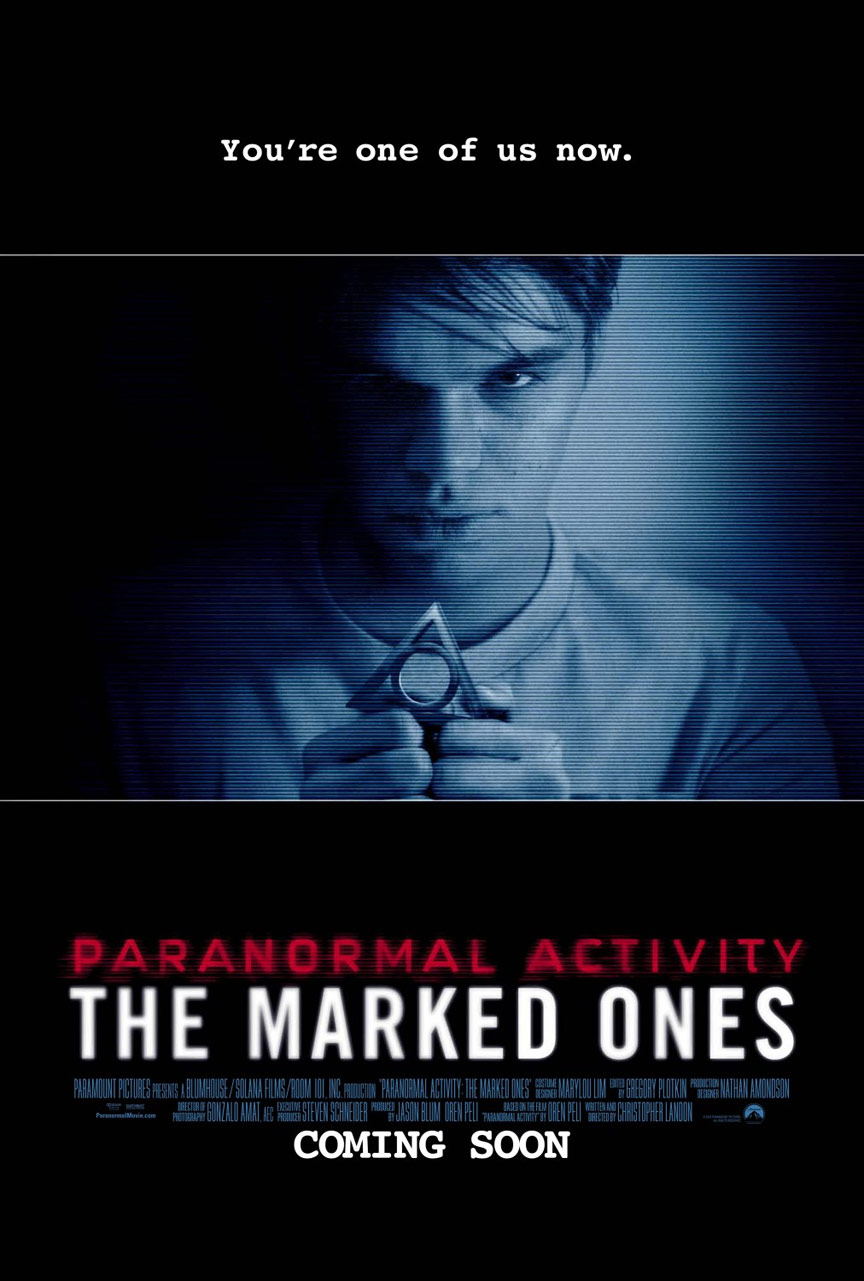 Paranormal Activity: The Marked Ones Poster #2