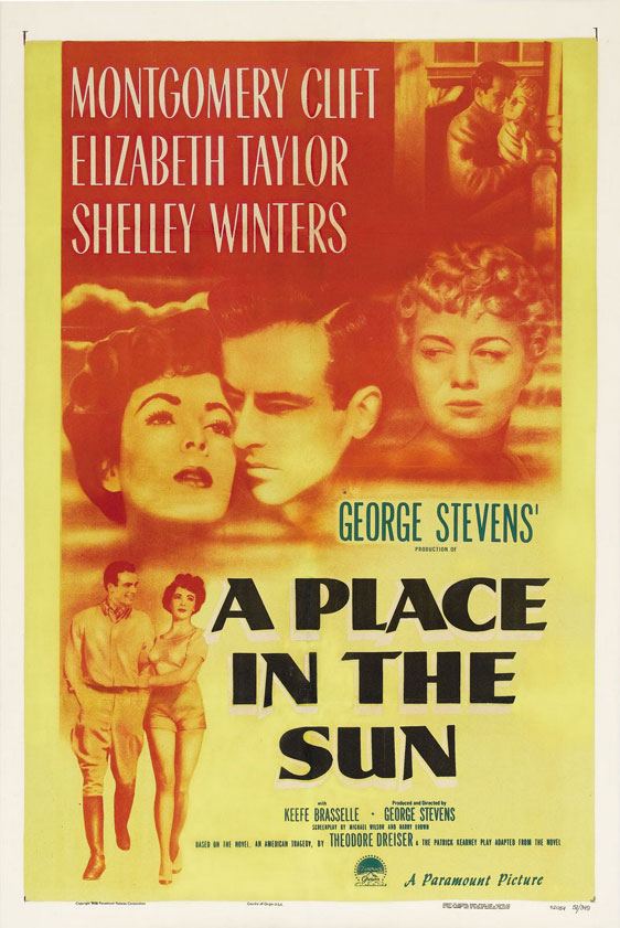 A Place in the Sun Poster #1