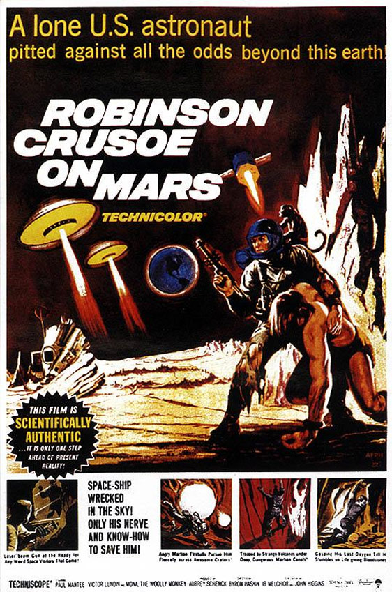 Robinson Crusoe on Mars Poster #2
