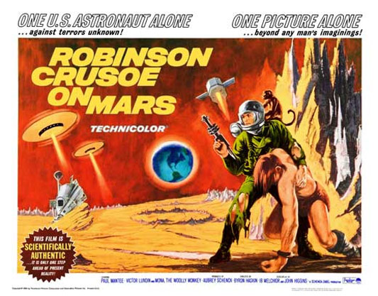 Robinson Crusoe on Mars Poster #4