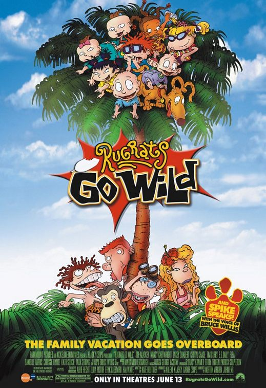 Rugrats Go Wild Poster
