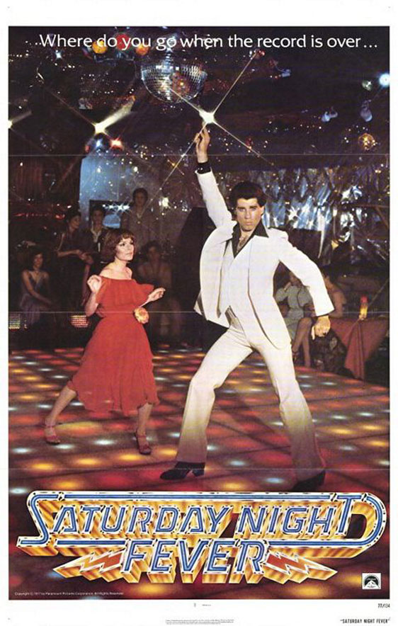 Saturday Night Fever Poster #1
