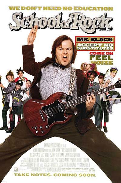 School of Rock Poster #1