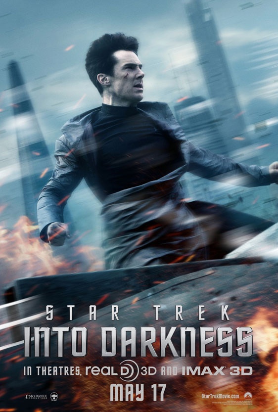 Star Trek Into Darkness Poster #7
