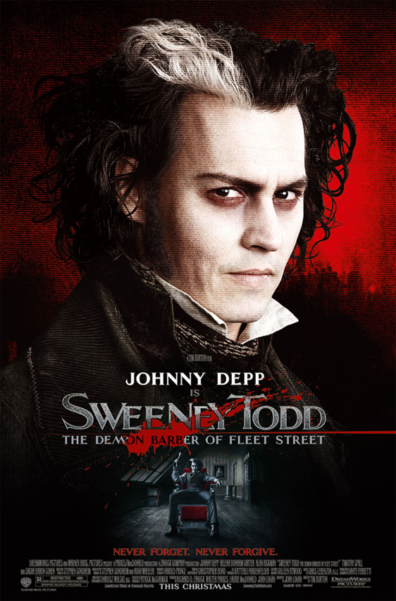 Sweeney Todd: The Demon Barber of Fleet Street Poster #2