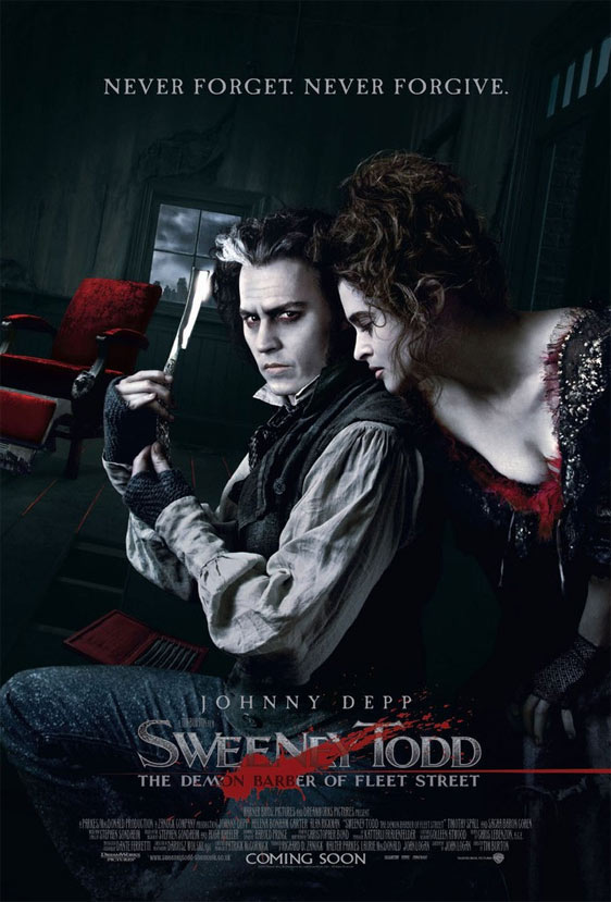 Sweeney Todd: The Demon Barber of Fleet Street Poster #3