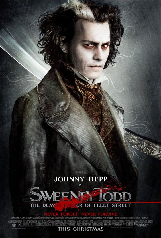 Sweeney Todd: The Demon Barber of Fleet Street Poster #4