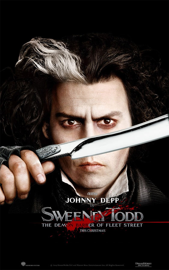 Sweeney Todd: The Demon Barber of Fleet Street Poster #5