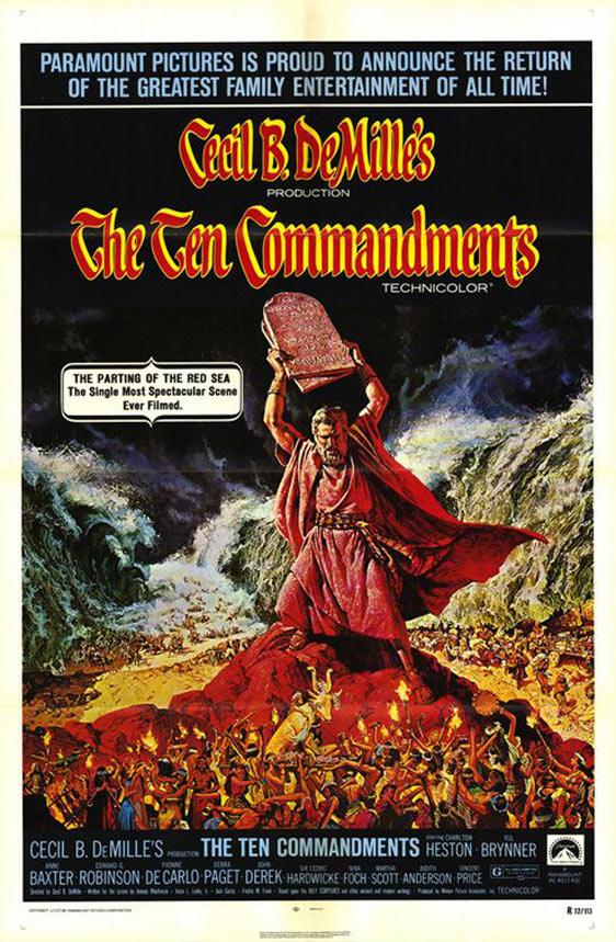 The Ten Commandments Poster #2