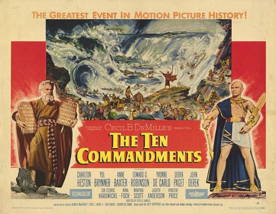 The Ten Commandments Poster #4