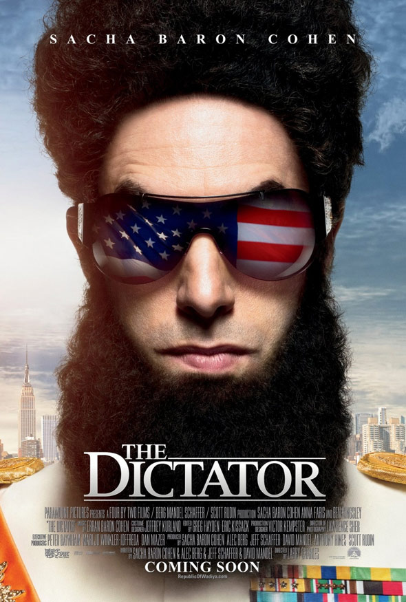 The Dictator Poster #2