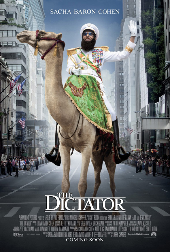The Dictator Poster #3