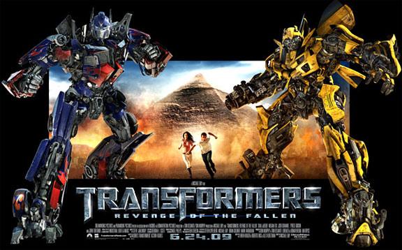 Transformers: Revenge of the Fallen Poster #2