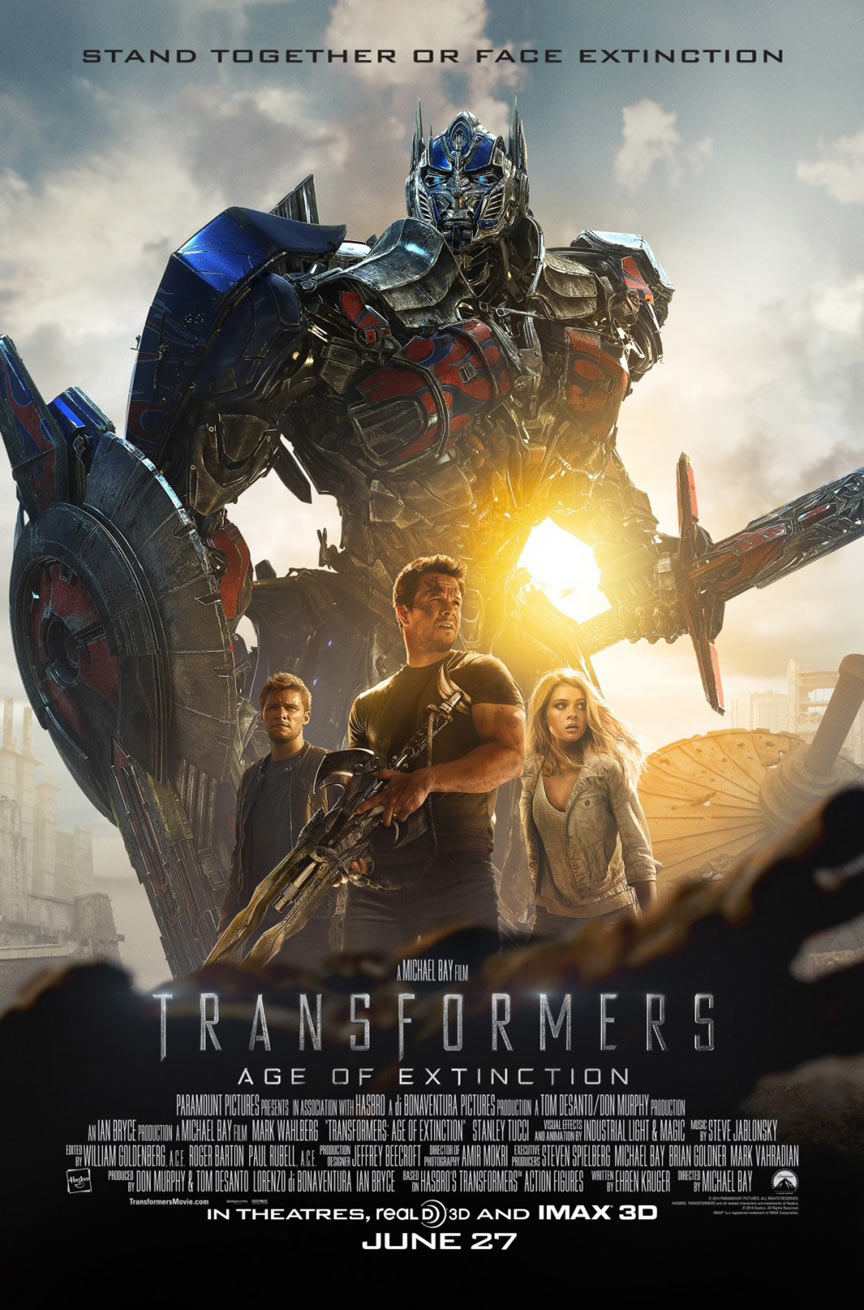 Transformers: Age of Extinction Poster #12