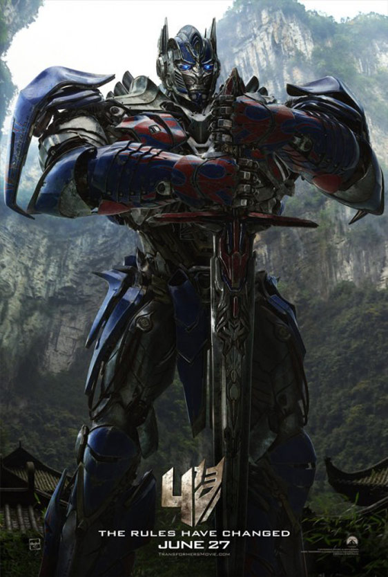 Transformers: Age of Extinction Poster #5