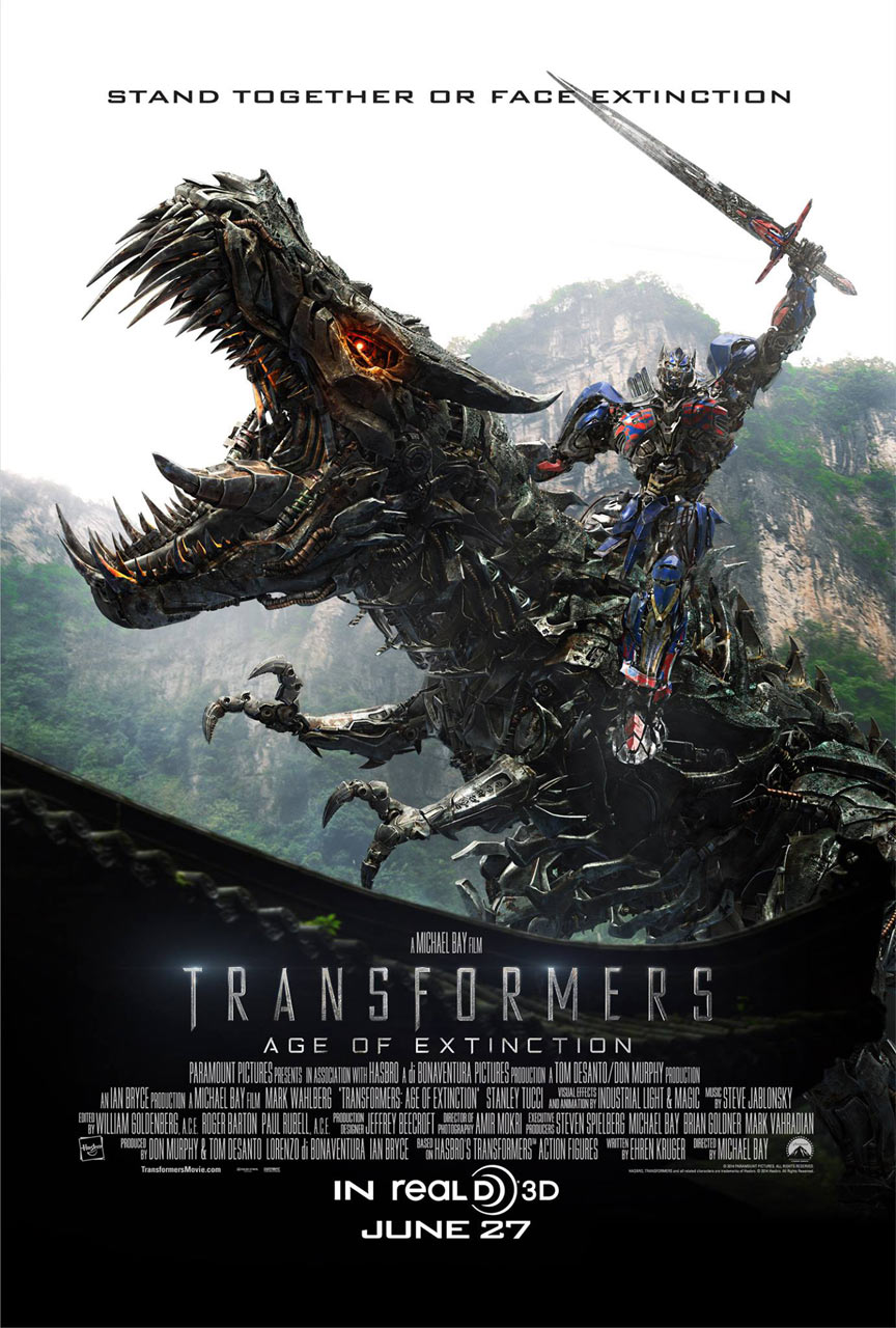 Transformers: Age of Extinction Poster #6