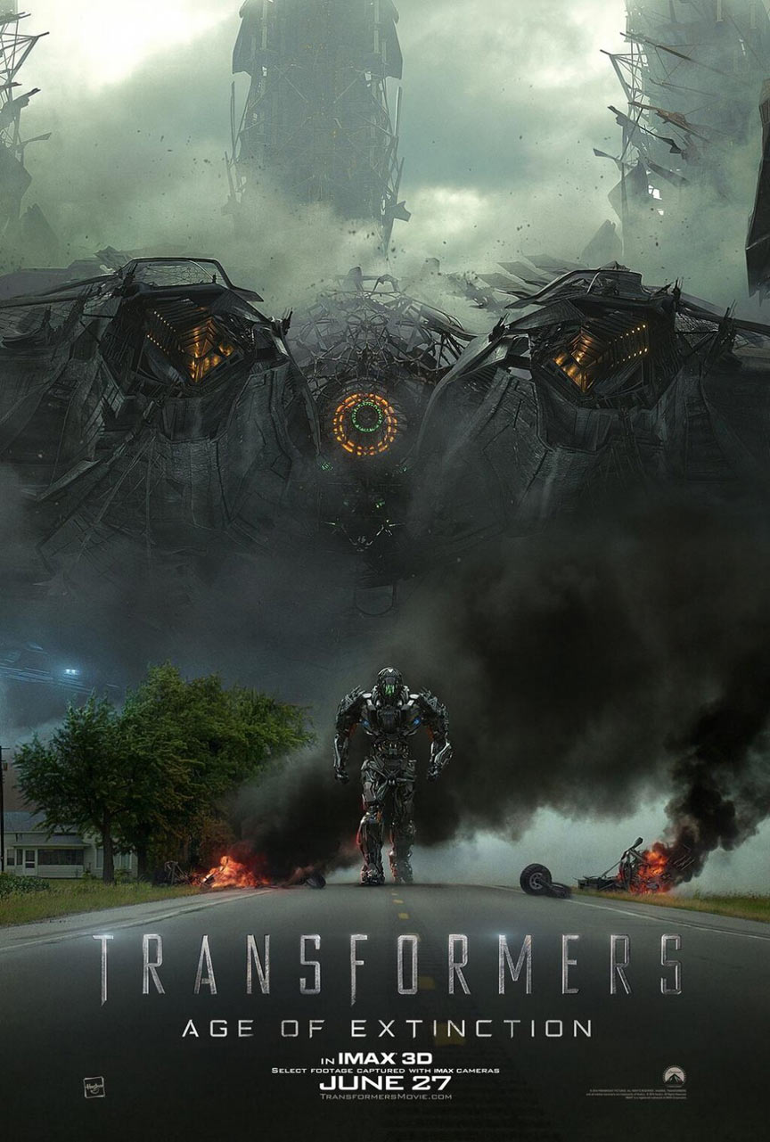 Transformers: Age of Extinction Poster #9