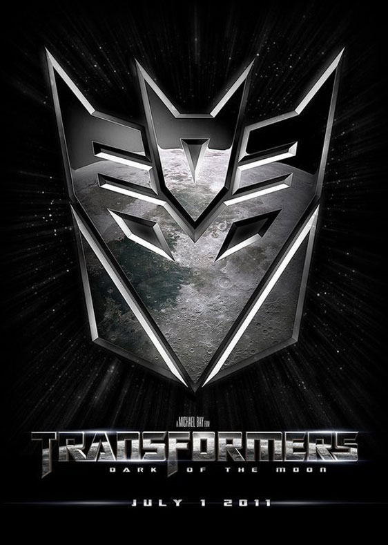 Transformers: Dark of the Moon Poster #2