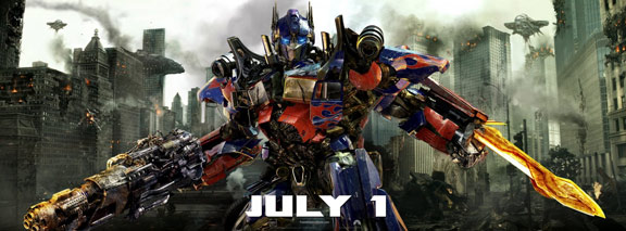 Transformers: Dark of the Moon Poster #3