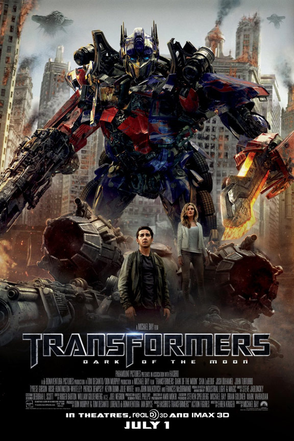 Transformers: Dark of the Moon Poster #6