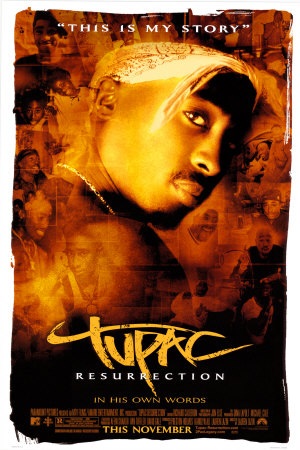 Tupac: Resurrection Poster #1