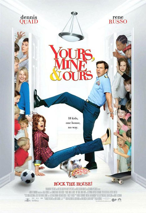 Yours, Mine and Ours Poster
