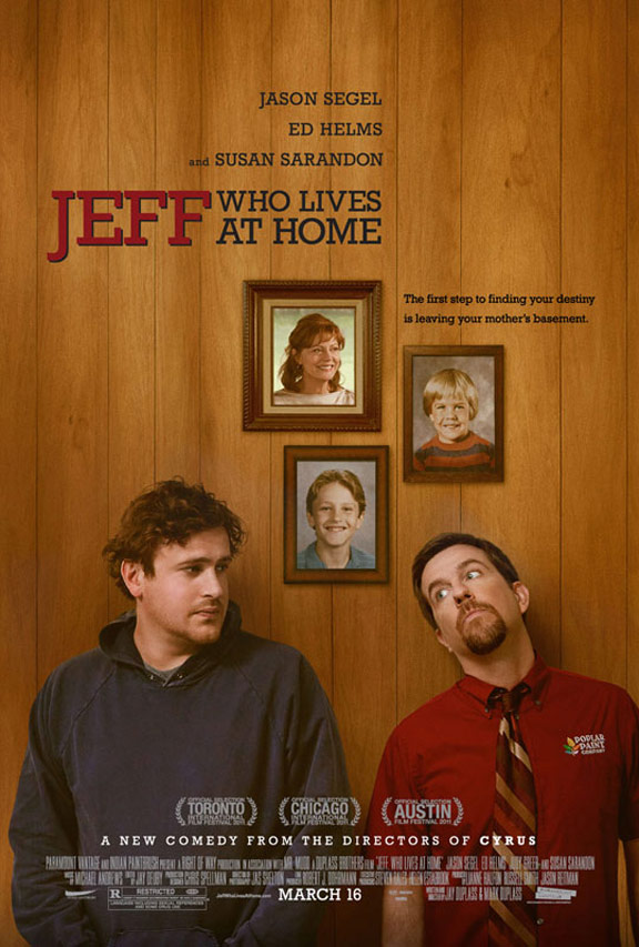Jeff, Who Lives at Home Poster #1