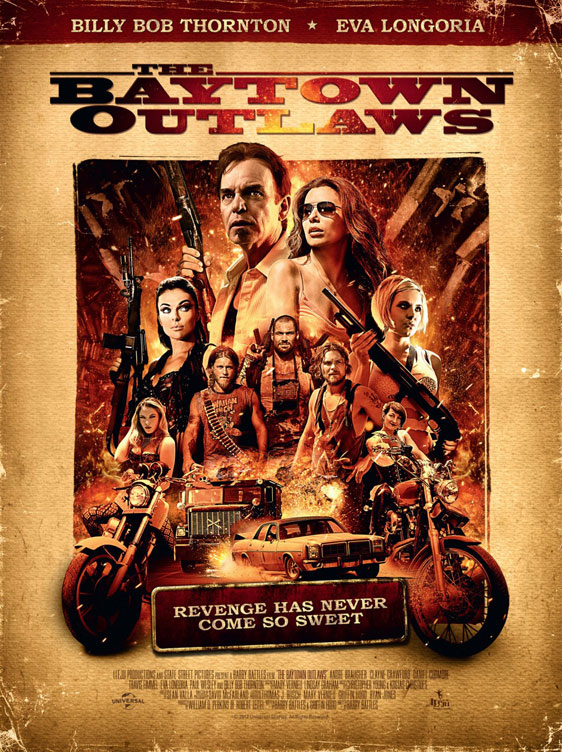 The Baytown Outlaws Poster #3