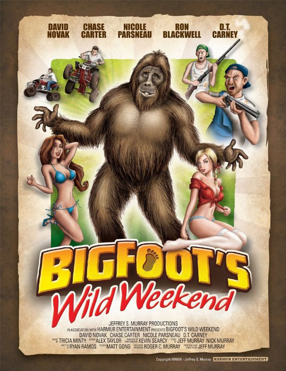 Bigfoot's Wild Weekend Poster #1