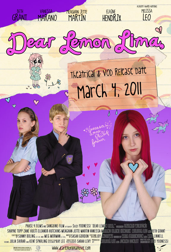 Dear Lemon Lima Poster #4