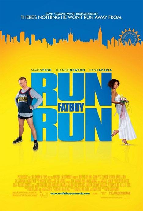 Run Fat Boy Run Poster #1