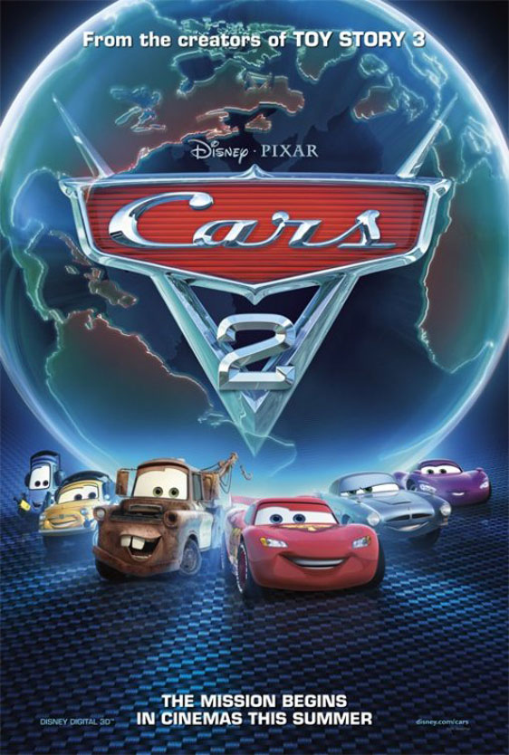Cars 2 Poster #2