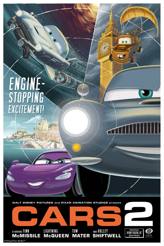 Cars 2 Poster #23