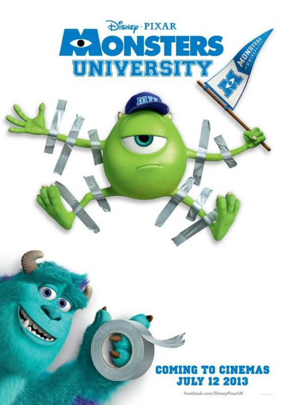 Monsters University Poster #13
