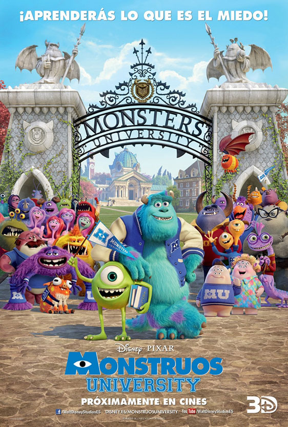 Monsters University Poster #14