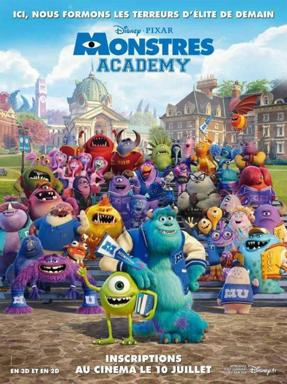 Monsters University Poster #15