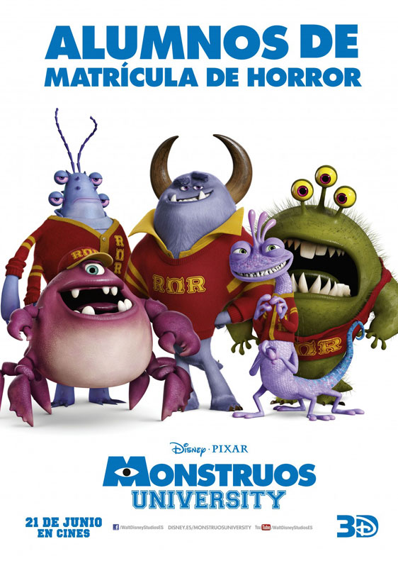 Monsters University Poster #18