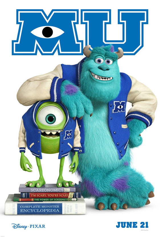 Monsters University Poster #2