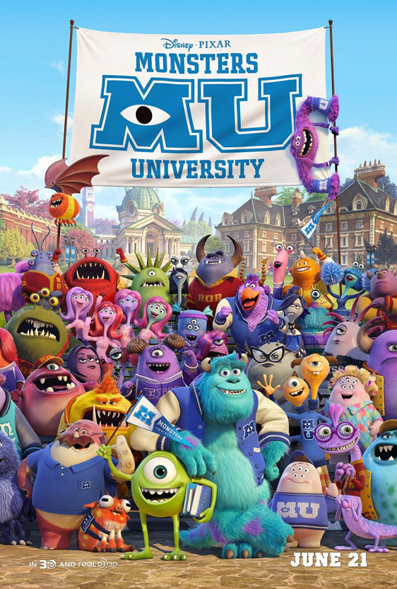 Monsters University Poster #9