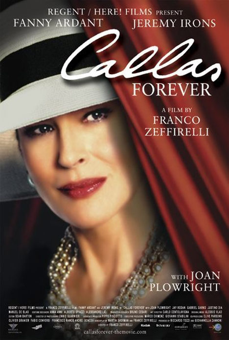 Callas Forever Poster #1