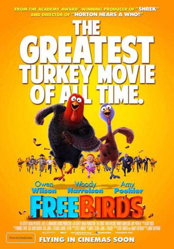 Free Birds Poster #4