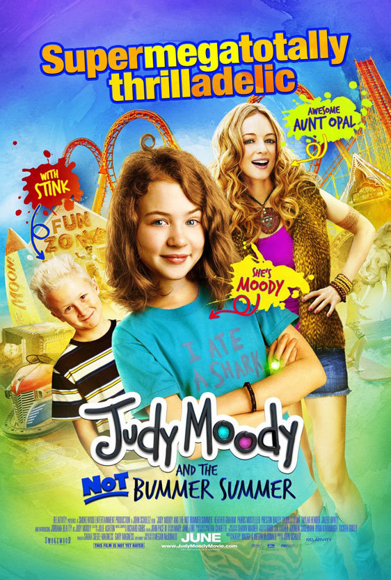 Judy Moody and the NOT Bummer Summer Poster