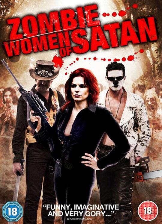 Zombie Women of Satan Poster #2