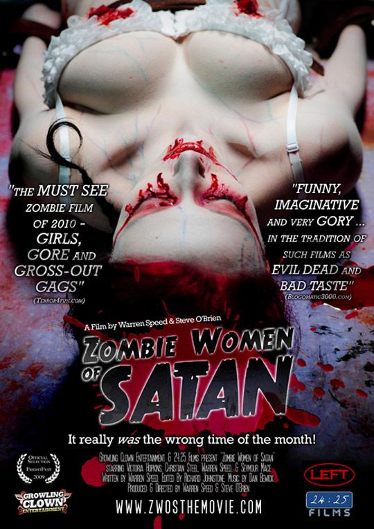 Zombie Women of Satan Poster