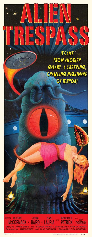 Alien Trespass Poster #2