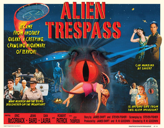 Alien Trespass Poster #3
