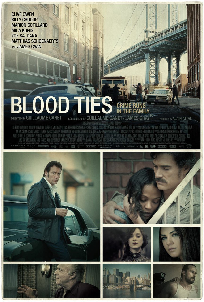 Blood Ties Poster #10